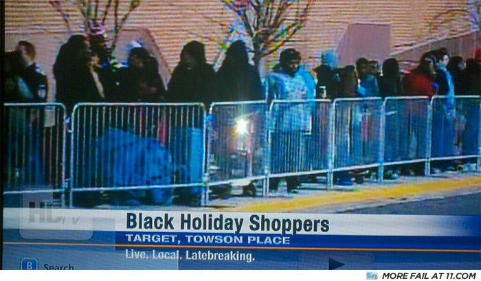 - Literally BLACK FRIDAY OR THE BLACK PEOPLE WILL SH