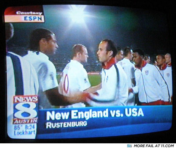 - I didn't know there was a NEW England...